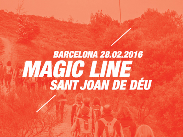 Barcelona Magic Line Fent Camins