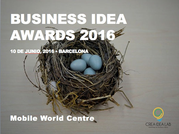 Business Idea Awards 2016