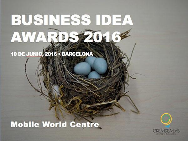 Business Idea Awards 2016