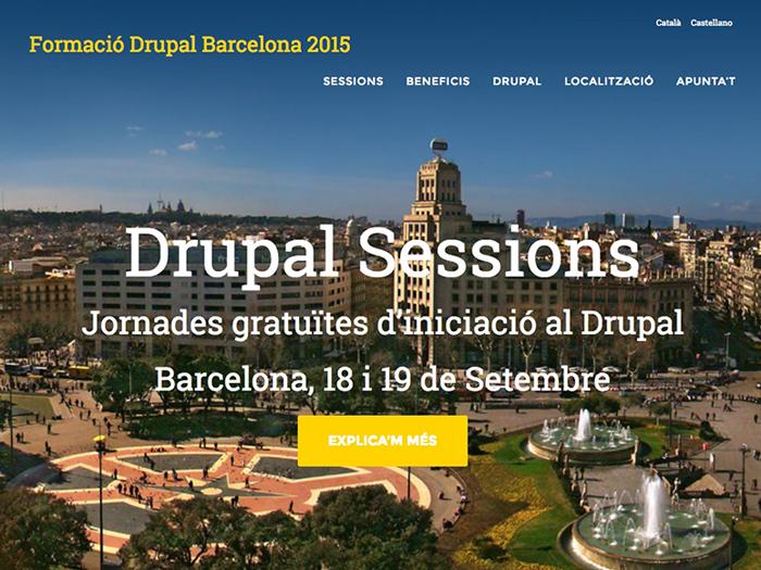 Formació Drupal Barcelona 2015